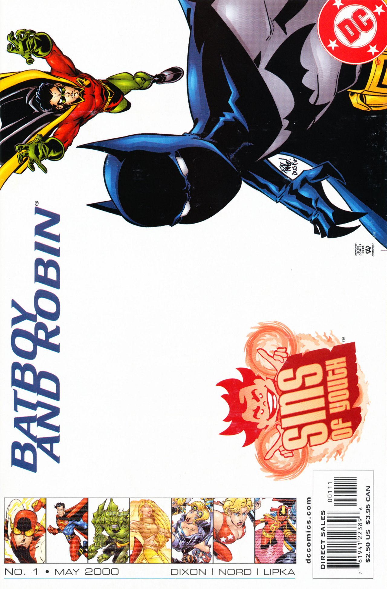 Sins of Youth: Batboy and Robin Vol 1 1