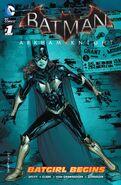 Batman Arkham Knight Batgirl Begins Vol 1 1