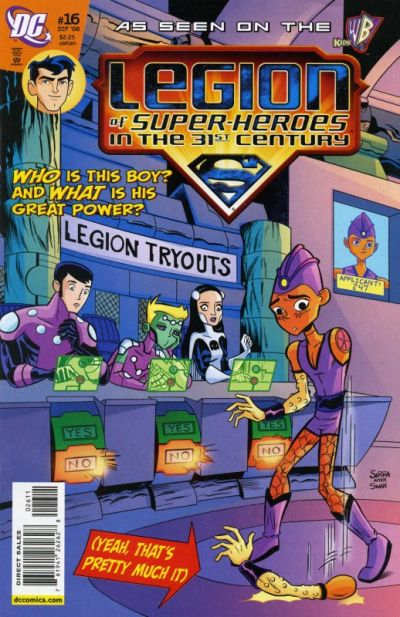 Legion of Super-Heroes in the 31st Century Vol 1 16