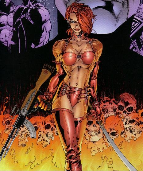 Rose Tattoo (Wildstorm Universe)