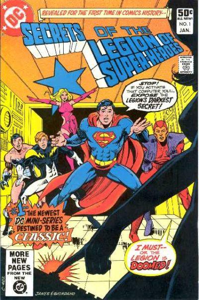 Secrets of the Legion of Super-Heroes Vol 1