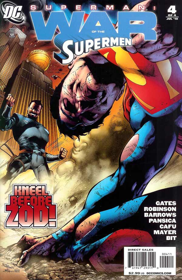 Superman: War of the Supermen Vol 1 4