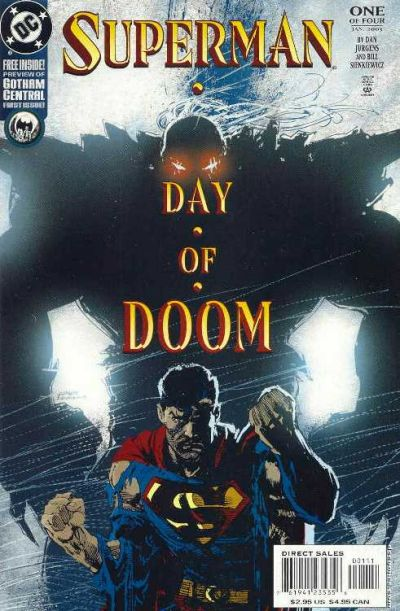 Superman: Day of Doom Vol 1 1