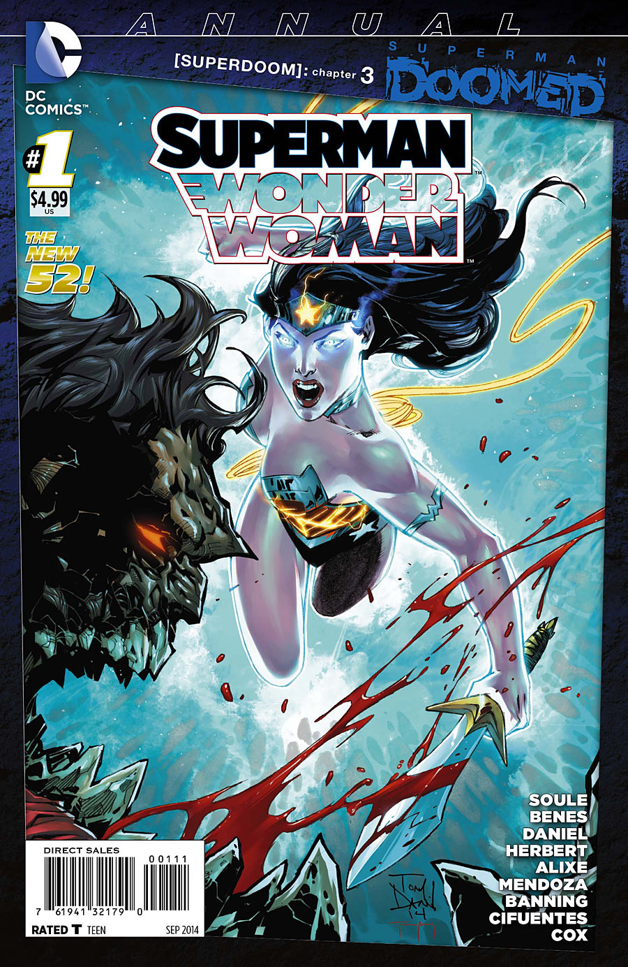 Superman/Wonder Woman Annual Vol 1 1