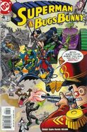 Superman and Bugs Bunny Vol 1 4 Cover