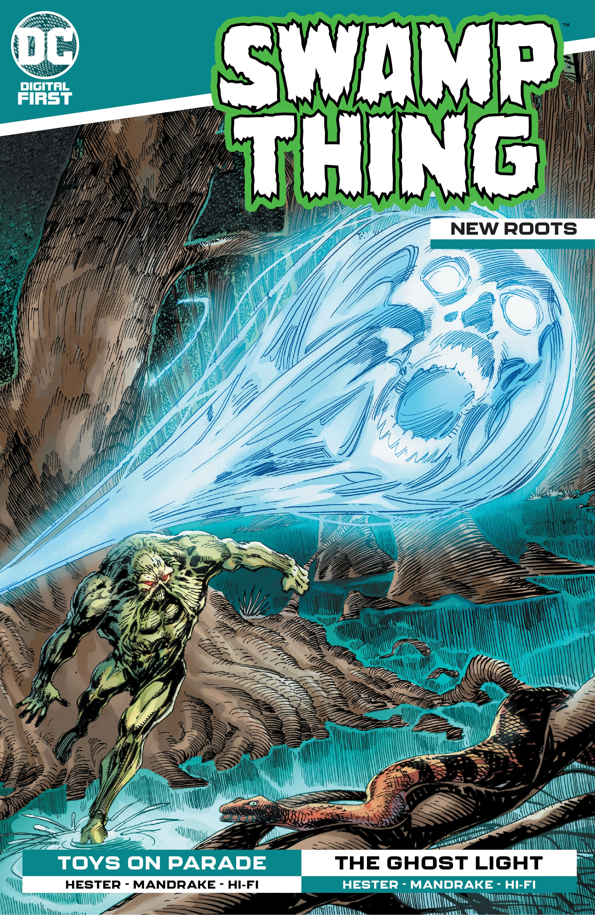 Swamp Thing: New Roots Vol 1 8 (Digital)