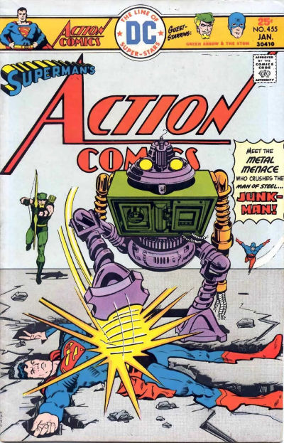 Action Comics Vol 1 455