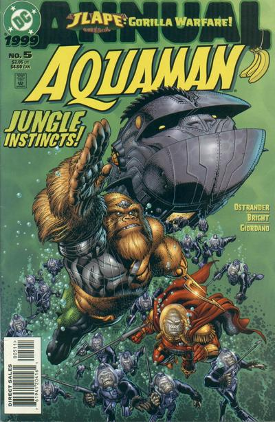 Aquaman Annual Vol 5 5
