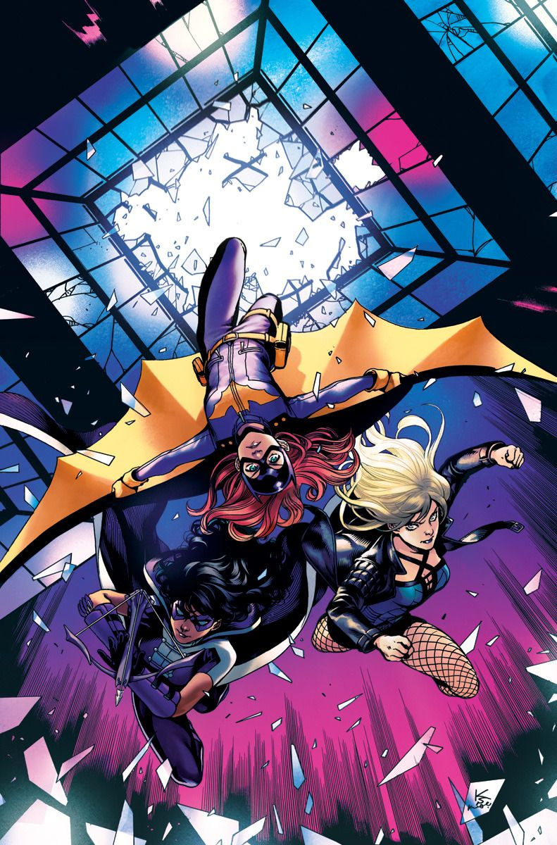 Batgirl and the Birds of Prey Vol 1 5 Textless Variant.jpg