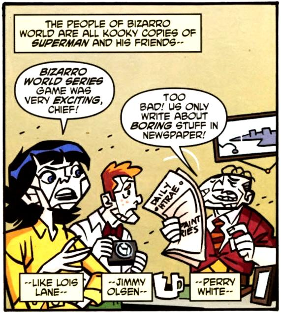 Bizarro Jimmy Olsen (Earth-508)