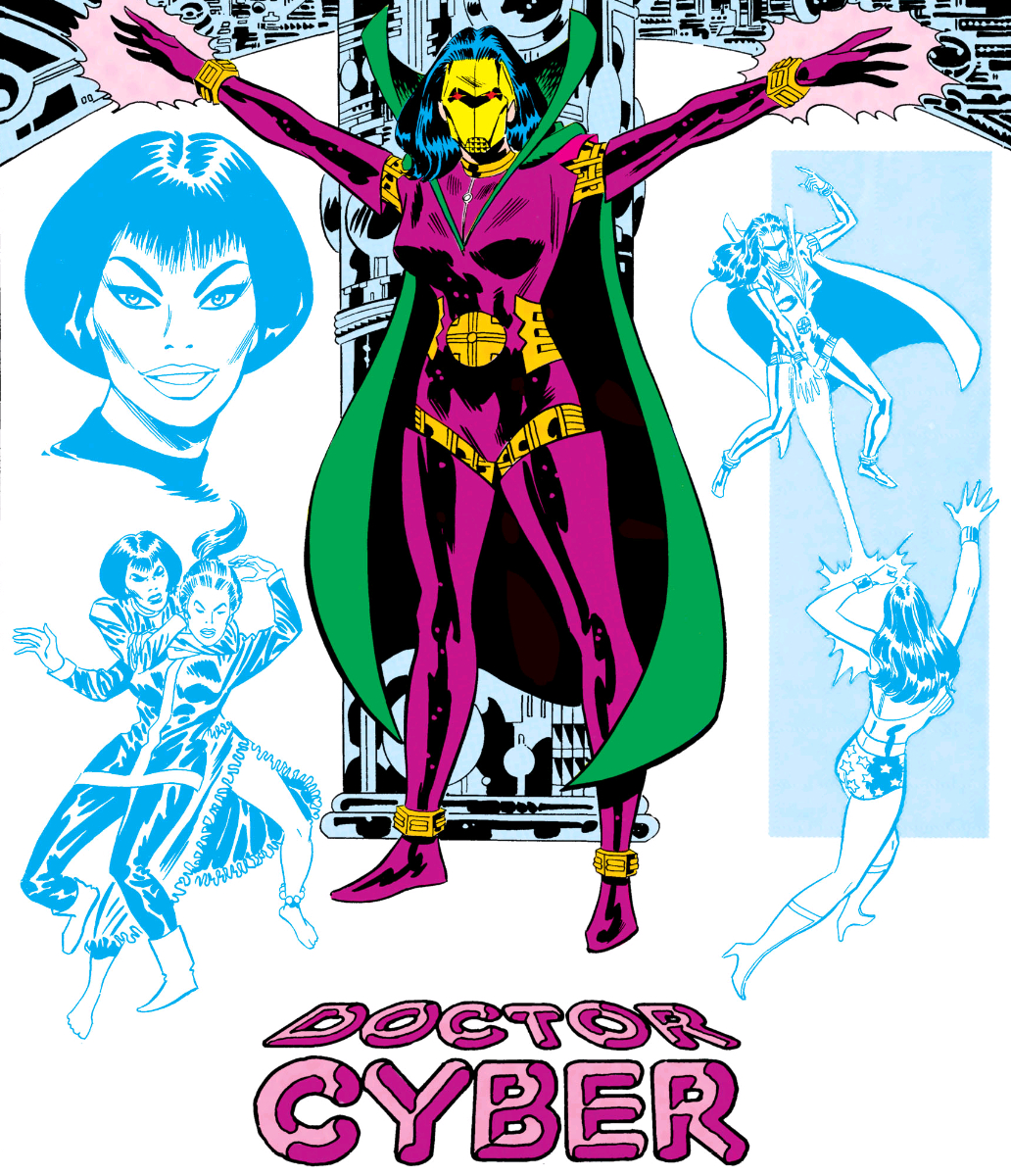 Cylvia Cyber (Earth-One)