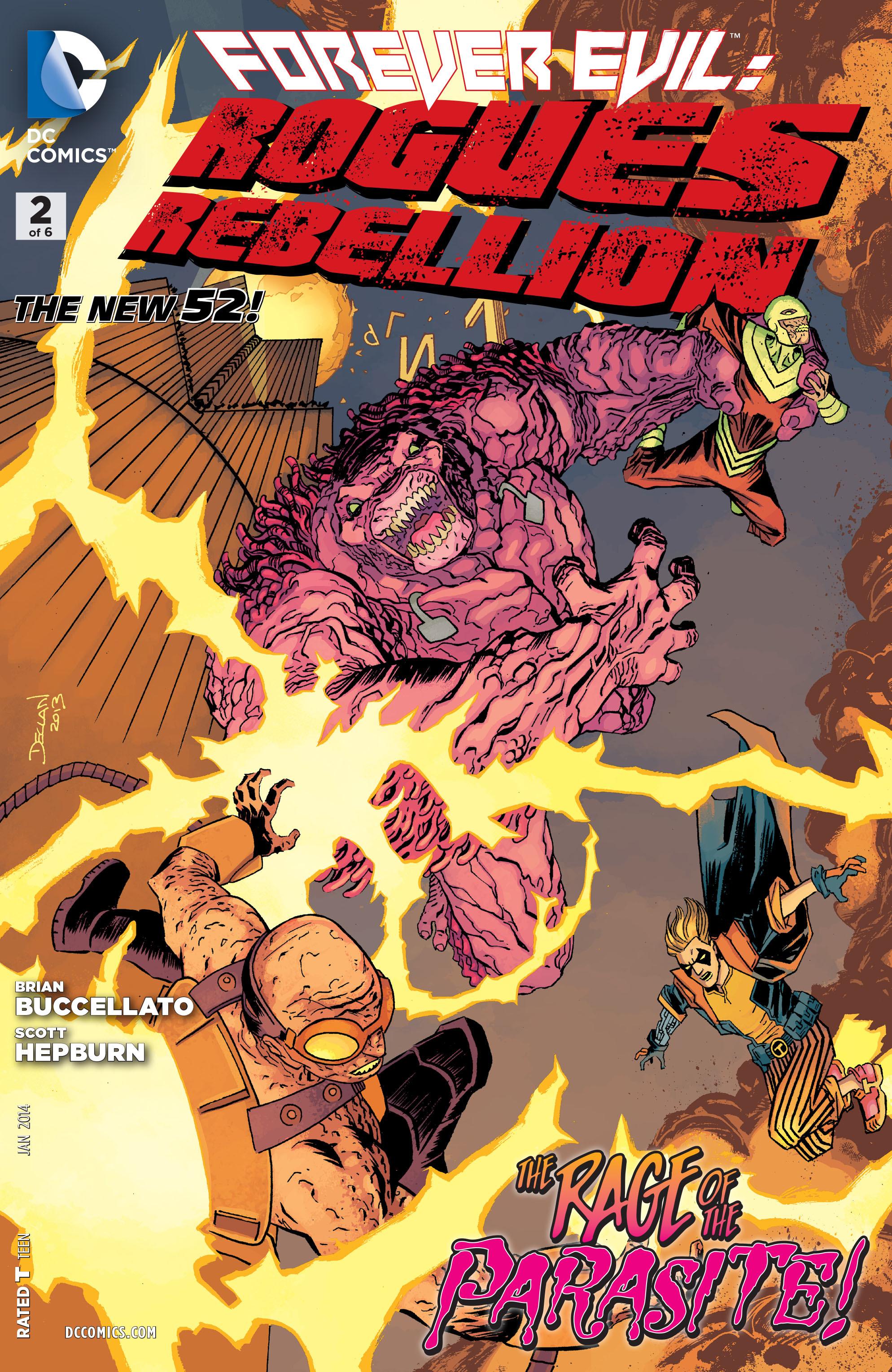 Forever Evil: Rogues Rebellion Vol 1 2