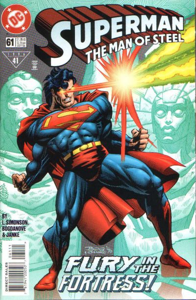 Superman: The Man of Steel Vol 1 61