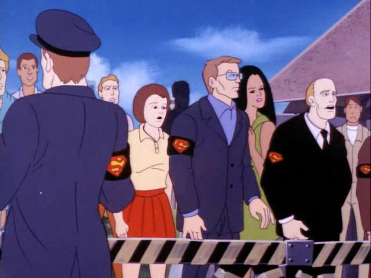 Death of Superman Armband