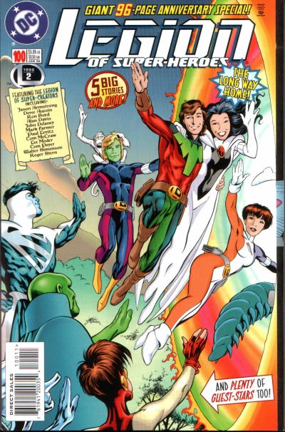 Legion of Super-Heroes Vol 4 100