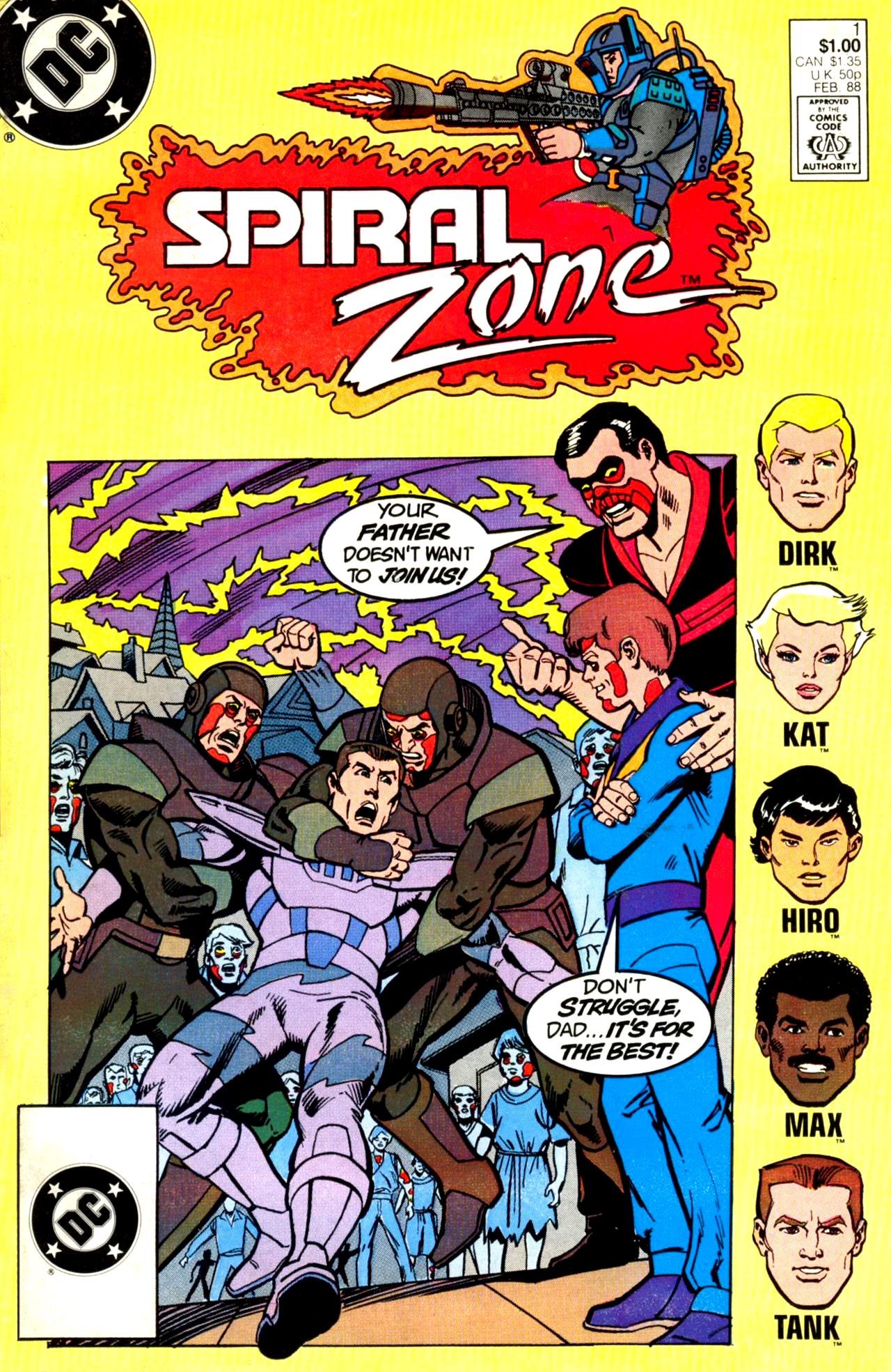 Spiral Zone Vol 1