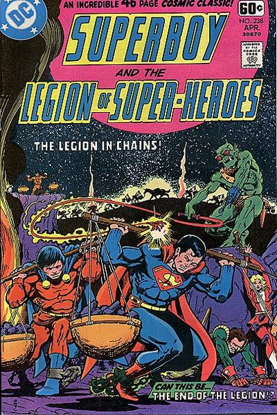Superboy and the Legion of Super-Heroes Vol 1 238