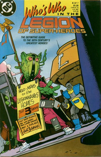 Who's Who in the Legion of Super-Heroes Vol 1 4