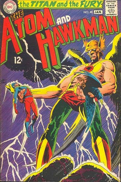 The Atom and Hawkman Vol 1 40