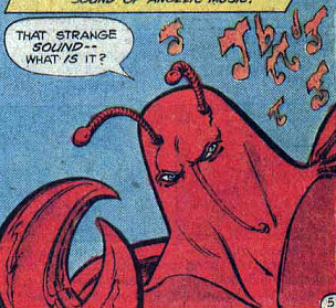 Cancero, the Electrical Crab Man (New Earth)