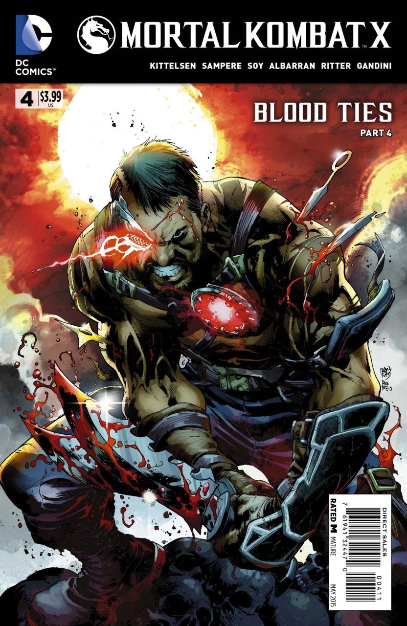 Mortal Kombat X Vol 1 4