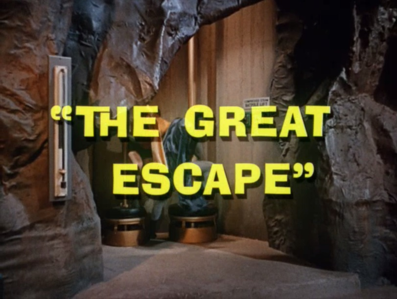 Batman (1966 TV Series) Episode: The Great Escape