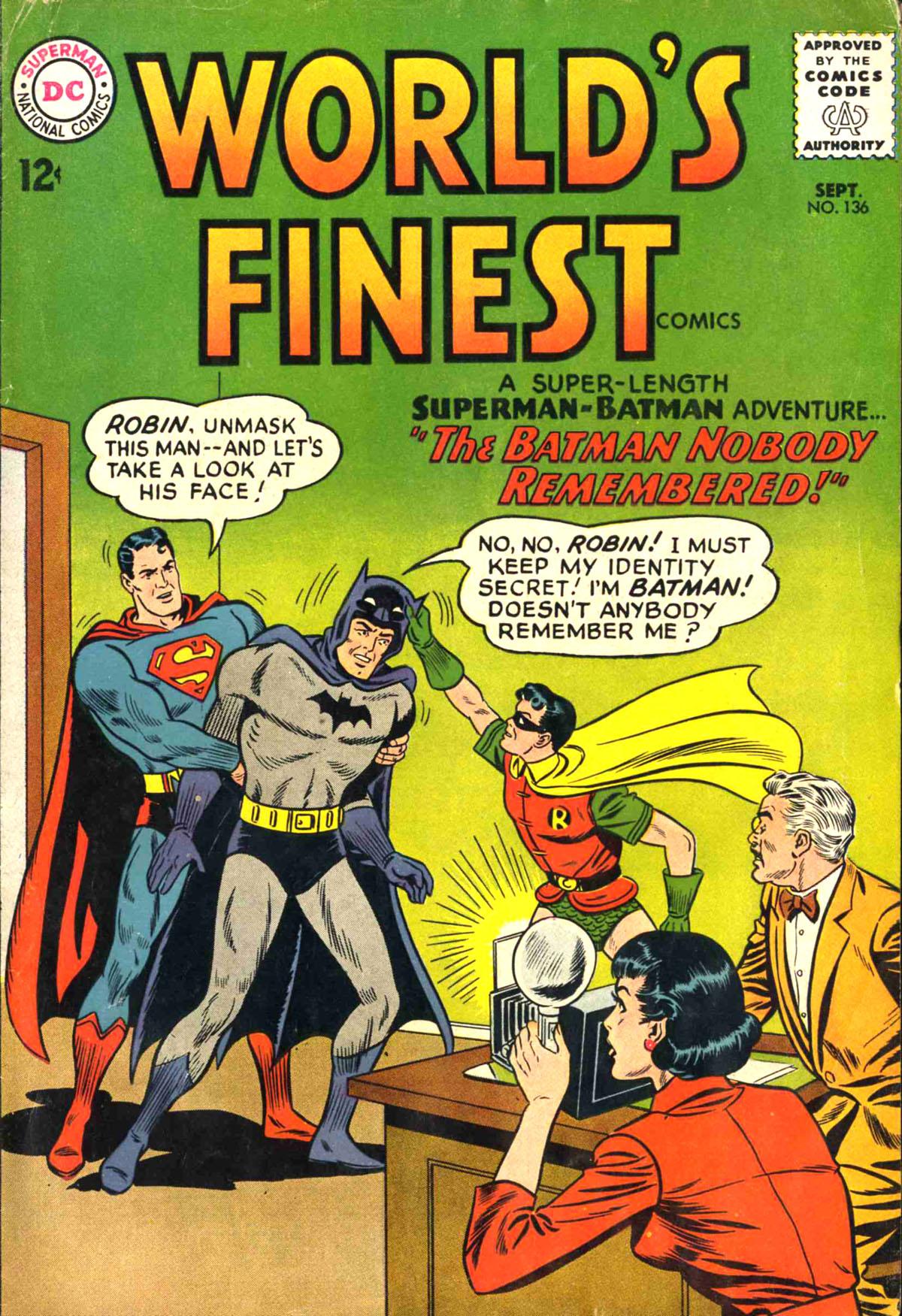 World's Finest Vol 1 136