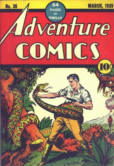 Adventure Comics Vol 1 36