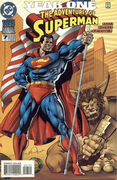 Adventures of Superman Annual Vol 1 7