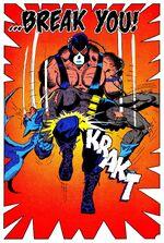 Bane breaks Batman