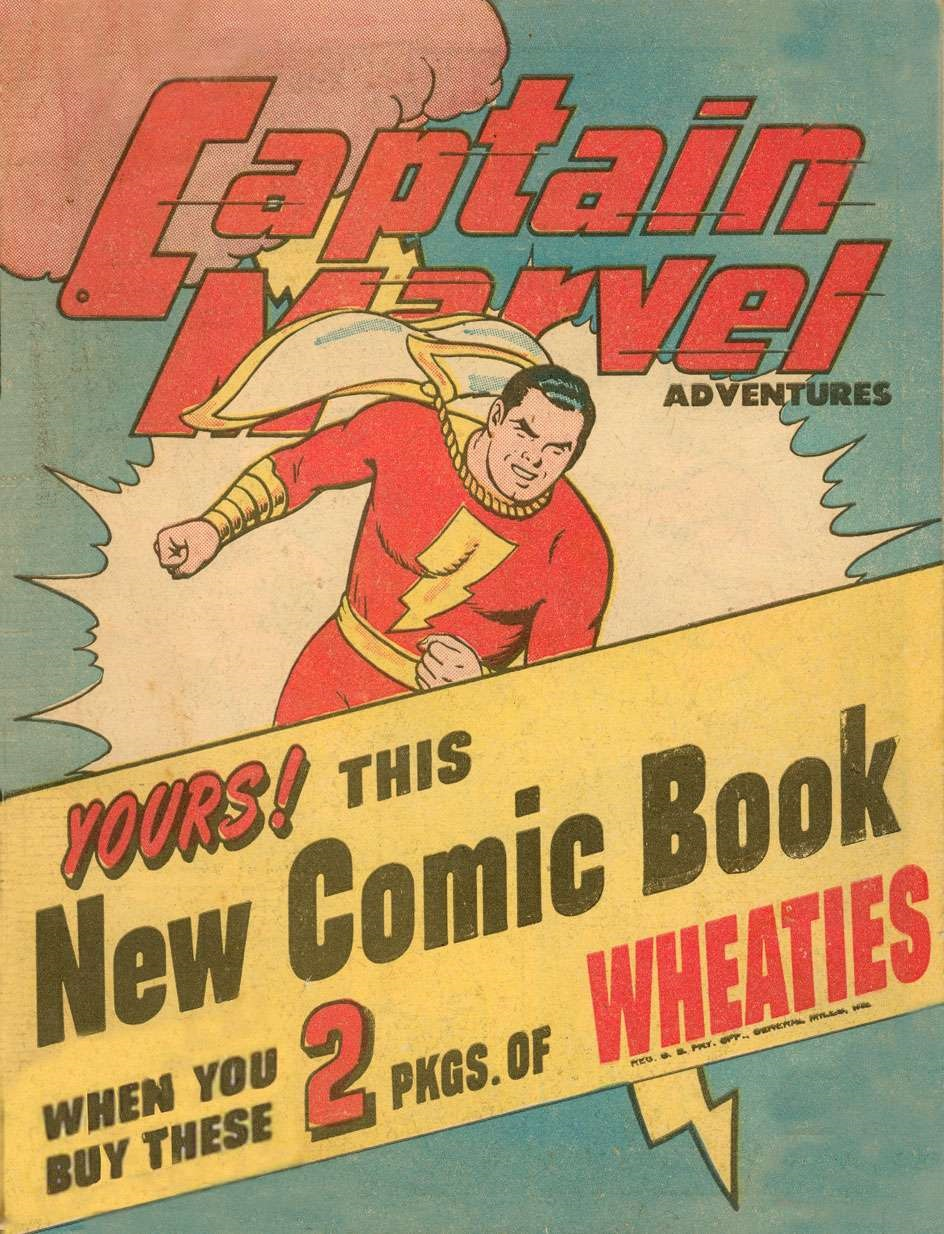 Captain Marvel Adventures Wheaties Miniature Edition Vol 1 1
