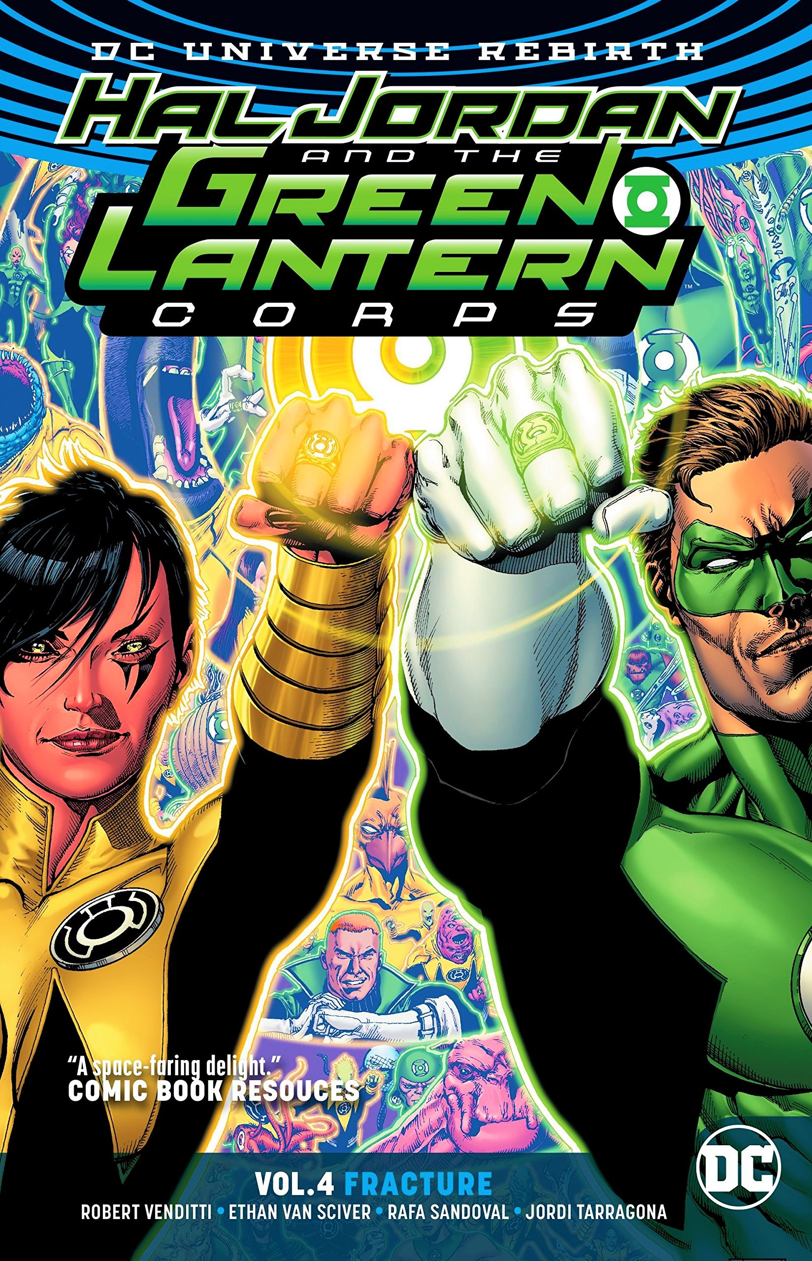 Hal Jordan and the Green Lantern Corps: Fracture (Collected)