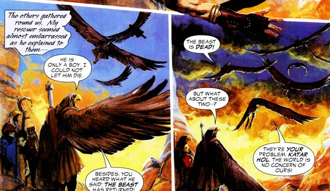 Hawkmen (Riddle of the Beast)