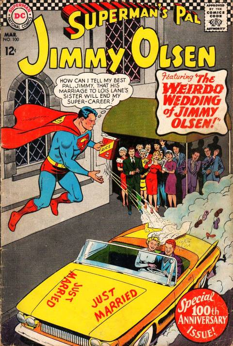 Superman's Pal, Jimmy Olsen Vol 1 100