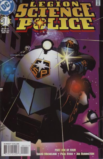 Legion: Science Police Vol 1 1