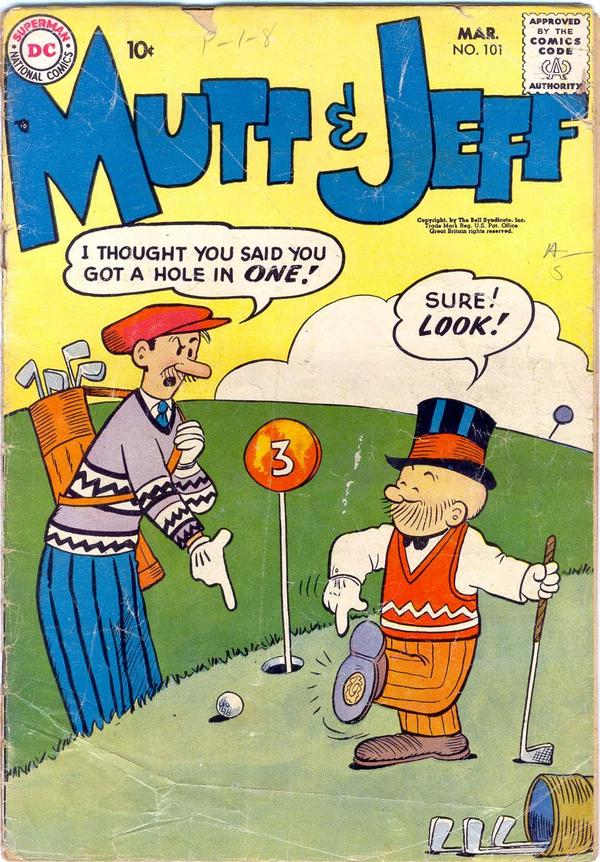 Mutt & Jeff Vol 1 101