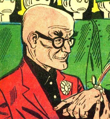 Professor Snakelocks (Earth-One)