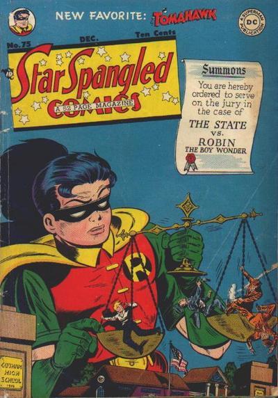 Star-Spangled Comics Vol 1 75