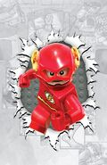 The Flash Vol 4 36 Textless Lego Variant