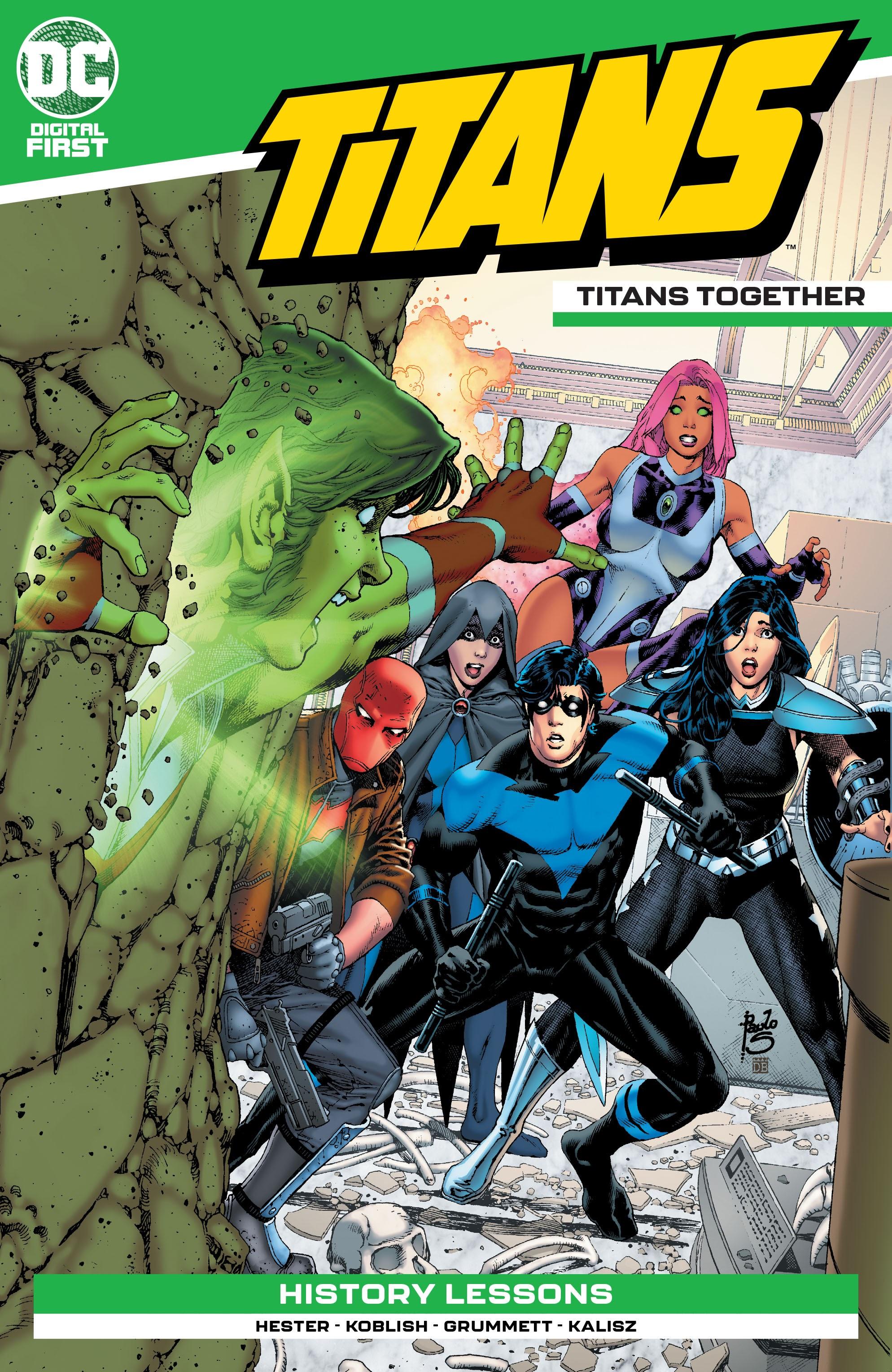 Titans: Titans Together Vol 1 (Digital)