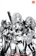 DCeased Vol 1 1 Unknown Comics Jay Anacleto Trade Dress Variant B&W