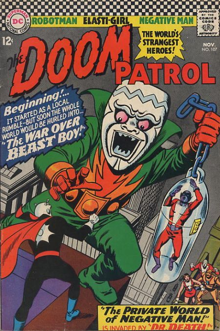 Doom Patrol Vol 1 107