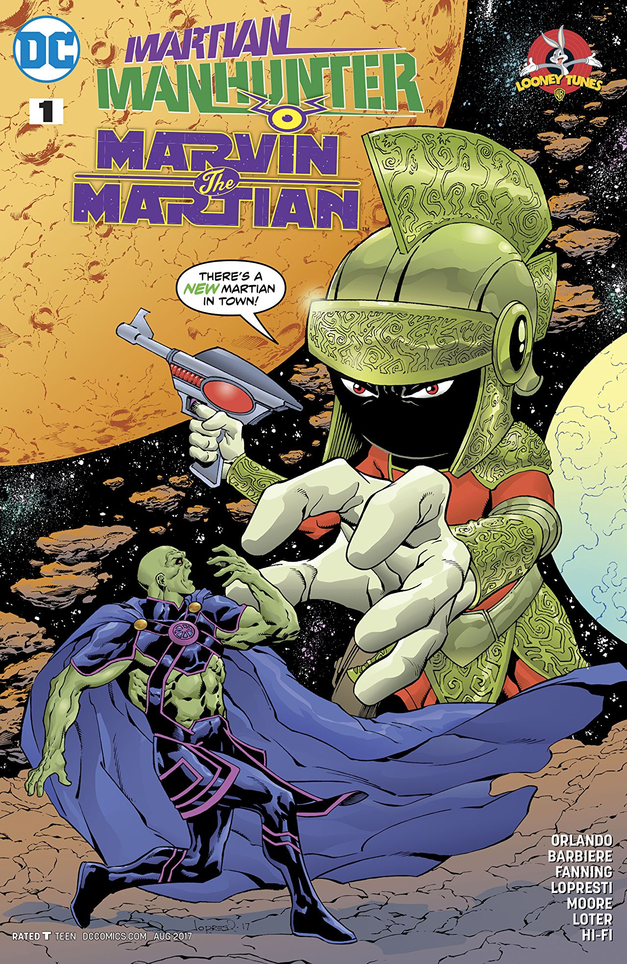 Martian Manhunter/Marvin the Martian Special Vol 1 1