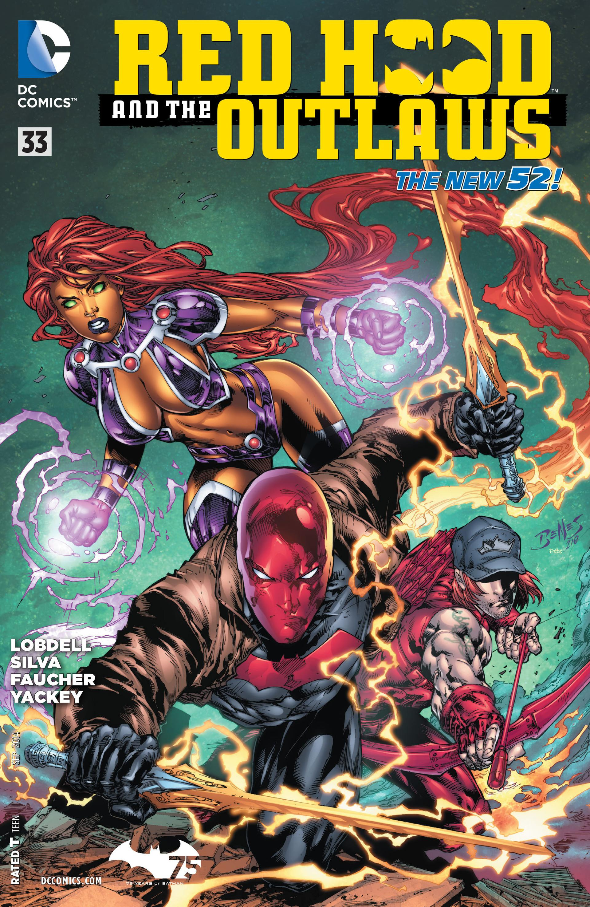 Red Hood and the Outlaws Vol 1 33