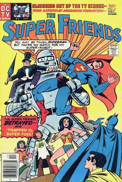 Super Friends Vol 1 2