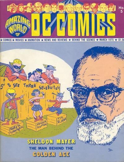 Amazing World of DC Comics Vol 1 5