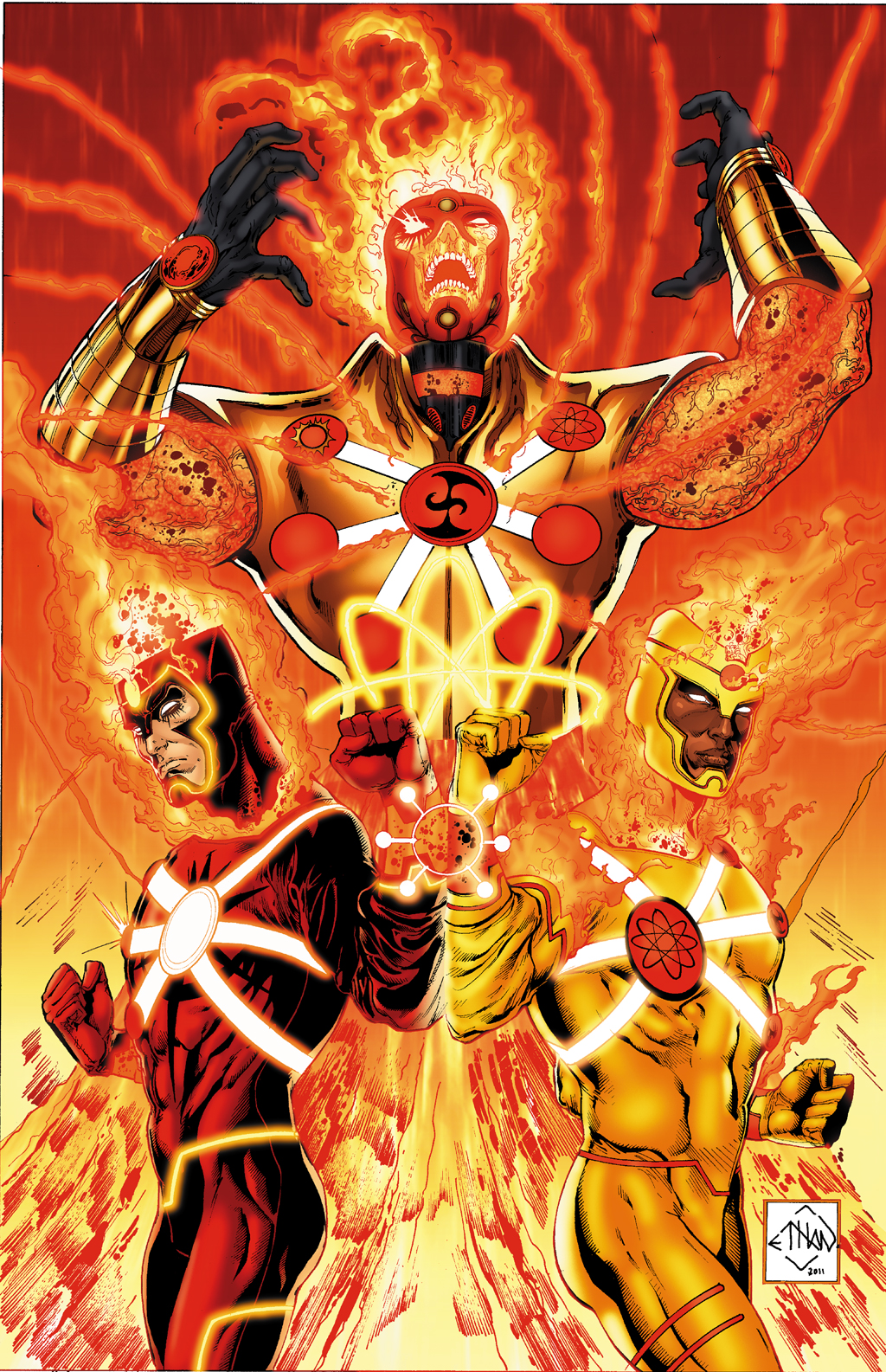 Fury of Firestorm: The Nuclear Men Vol 1 1