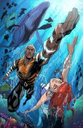 Future State Aquaman Vol 1 1 Textless Variant