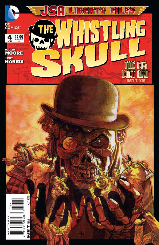 JSA Liberty Files: The Whistling Skull Vol 1 4