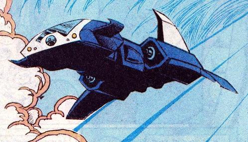 Justice League Cruiser